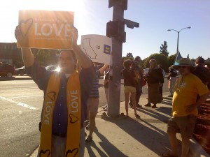 Protesting California's Proposition 8